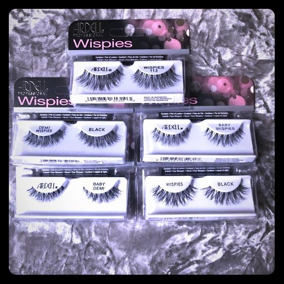 f20059cd500 Ardell Makeup   5 Packs Of False Eye Lashes   Poshmark